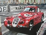 Alfa Romeo gana en Le Mans 24 horas en 1939. Gery De Sauvage
