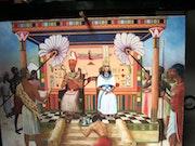 Scène de vie de l'Egypte des pharaons. Jean-Claude Marmion