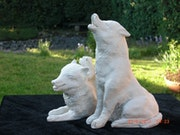 Family Dog - Weathered Terracotta.