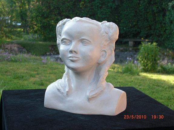 Mi dulce - yeso de cerámica.  Michèle Valdre-Kromer