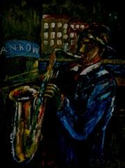 Strassenmusiker | Eine Szene aus meiner Geburtsstadt Berlin. Art-Stodolny