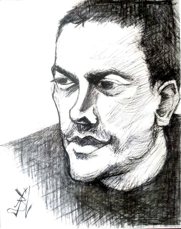 Portrait de Walid. Jblurain Savoir Être Heureux En Ce Monde Ci
