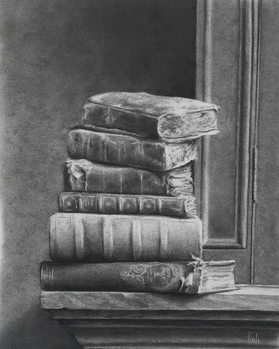 Les vieux livres. Sylvie Pioli Sylvie Pioli
