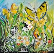 Les papillons jaunes.