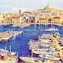 Marseille et son vieux port. Lucienruth