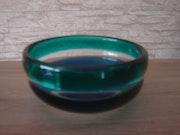 Glasschale, «a fasce», Entw. :Fulvio Bianconi, Ausf. :Venini&C. , Um 1955.. Glaskunstgalerie Raphael