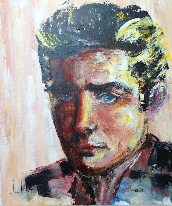 Le jeune homme. Julia Colletto Julia. Colletto