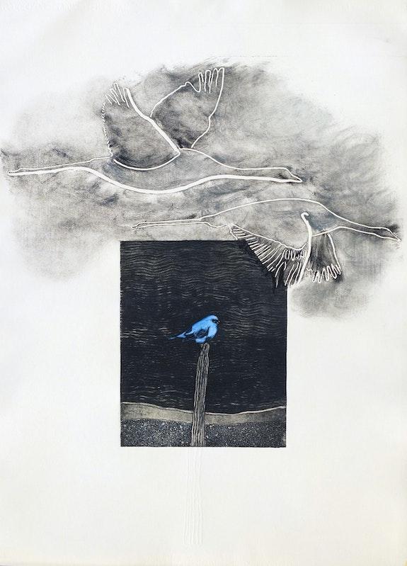 L'oiseau bleu. Mardini Philippe Mardini Philippe