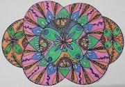 Butterfly Mandala. Susan Loone