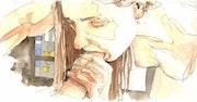Felation à l'aquarelle. Emmanuel Murzeau