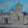Eglise de Nasbinals - Entrée principale. Catherine Souet-Bottiau