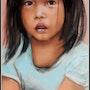 Petite fille du vietnam. Joelle Bouriel