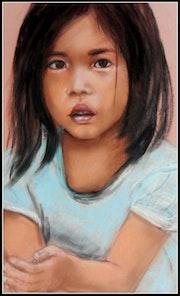 Petite fille du vietnam.