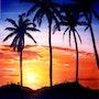Crépuscule Guadeloupe. Serge Coco-Viloin