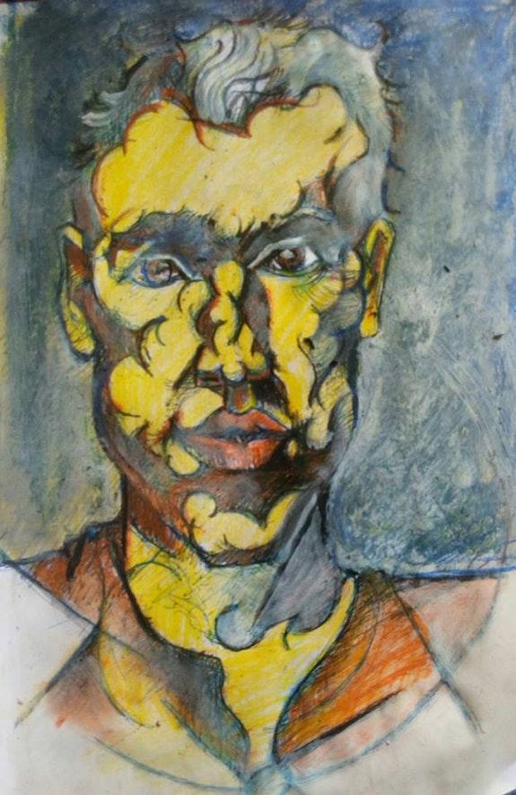 Autoportrait. Jean-Baptiste Luraine Savoir Être Heureux En Ce Monde Ci