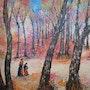 En forêt de Fontainebleau (1995). Quinio