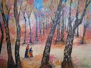En forêt de Fontainebleau (1995).