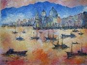 Venise Saint Marc La rade (1987).