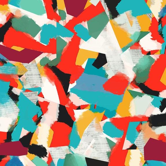 Paper collage realized with pleasure. Rocco Fiumara Rocco Fiumara
