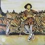 Velo des champs n 340 o8/2018. Jean Claude Ciutad-Savary. Artiste Peintre