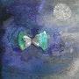 Bleu papillon. France Mannaioni