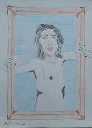 La Femme au tableau.