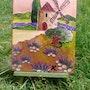 «Un moulin en Provence». Karine Carreres Belkasmi