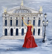 La belle Dame Rouge. Catherine James