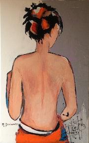 Femme au dos nu.