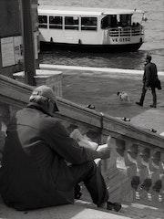 I scalini del Redentore, Venezia. Charpaud- Helie