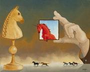 La traversée du miroir. Daniel Bergagna