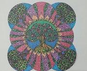 Mandala for Trees II. Susan Loone
