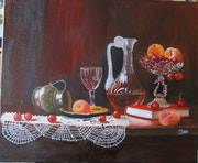 Nature morte avec fruits. Marie Robin