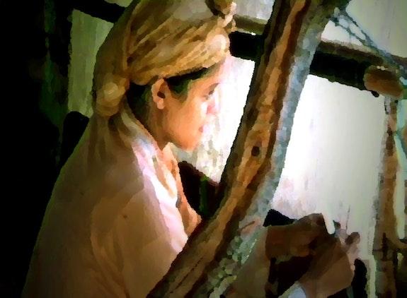 La petite fileuse amazigh. Eric Serafini Eric Serafini