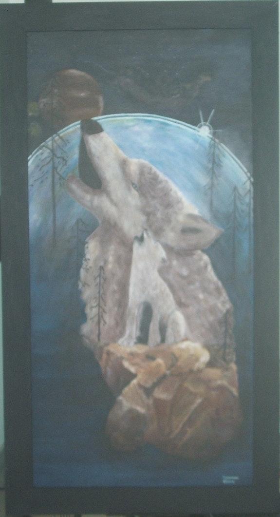 Chant du loup. Eliane Rousseau Eliane Rousseau