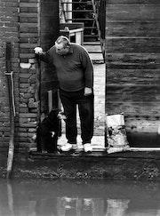 Il vecchio e il suo cane, Venezia. Charpaud- Helie
