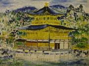 Kinkaku-ji (Pavillon d'or) Kyoto Japon. Toshio Asaki