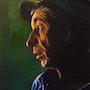 Clair- obscur, portrait de paysan. Anne Van Der Haegen
