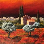 Provence du soir. Anne Van Der Haegen