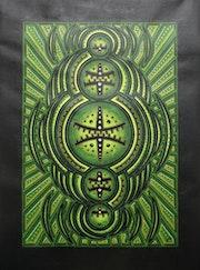 Pintura contemporánea : Ciclo verde..
