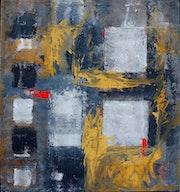 Gelb dominant mit grauen töne.. Lorenzo Silvestrini