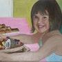 Le gâteau d'anniversaire. Cesar Luciano