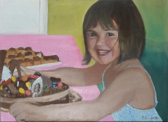 Le gâteau d'anniversaire. Cesar Luciano Pierre Giafferi Alias Cesar Luciano