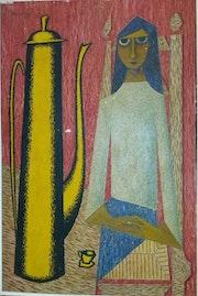 La Théière. Artiste Patricia Mazzeo
