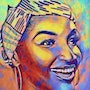 Belle africaine. Jpicasso