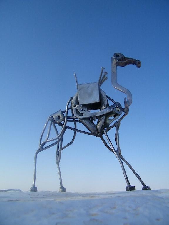 Le camel en acier. Mehdi F. Mehdi T.