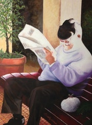 «Amusing News». Beverley Bonner Fine Art
