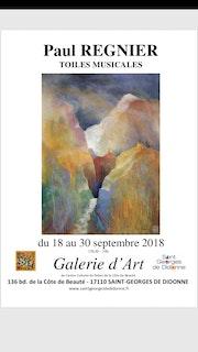 Exposition toiles musicales. Paul Régnier