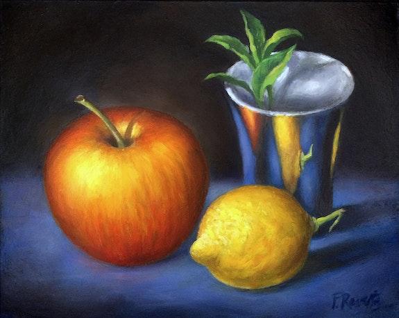 Apple, Lemon, Silver Goblet. Frédéric Reverte Frédéric Reverte