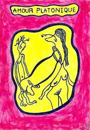 Amour platonique 4087.. Dominique Cauvé